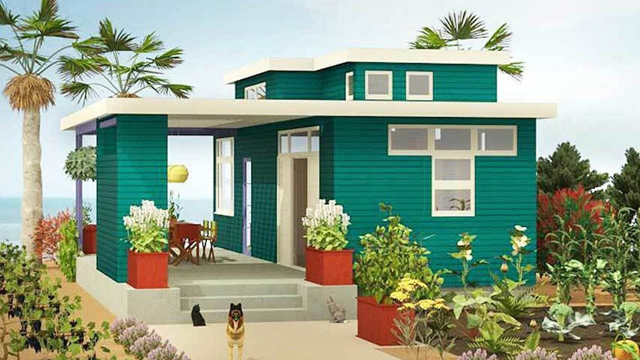 The Sims 4 Real To Sims Series Speed Build Starter House Building Cottage Style House Plans Sims House Design Modern Tiny House