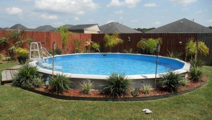 Aufstellpool Eine Echte Alternative Zu Teuren Swimmingpools Oberirdische Pools Hinterhof Pool Landschaftsbau Pool Uber Dem Boden