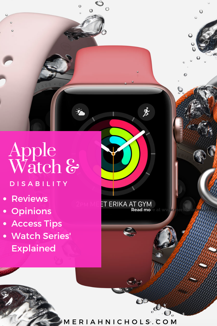 Apple Watch and Disability Access (With images) Apple