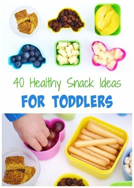 40 Healthy Snack Ideas For Toddlers From Eats Amazing UK