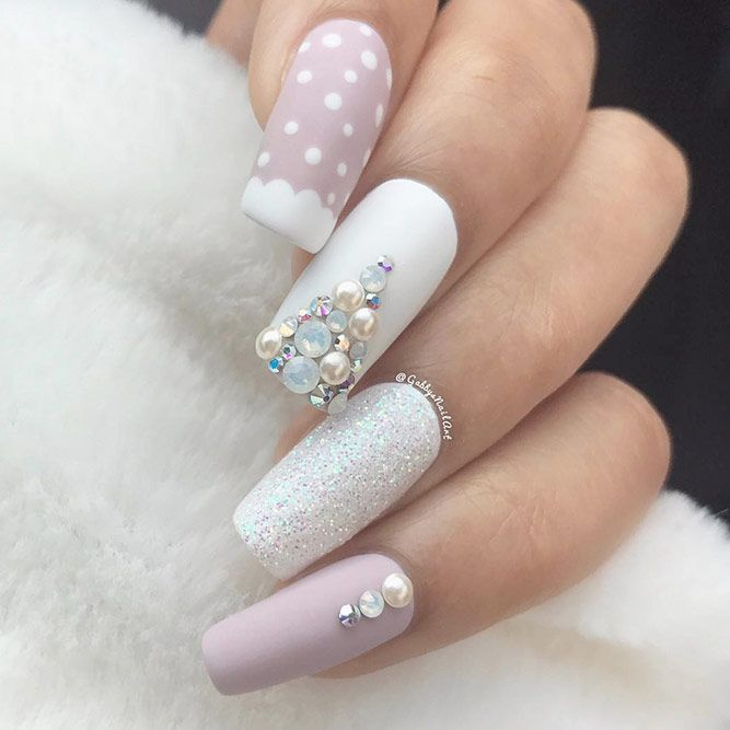 Examples of Beautiful Long Nails to Inspire You | Square nail ...