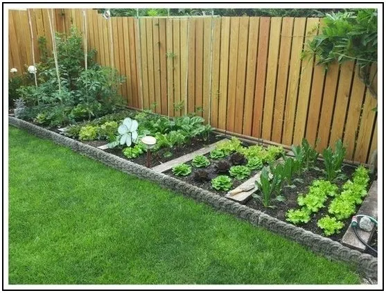 153 Affordable Frontyard And Backyard Garden Landscaping Ideas Page 12 Homydepot Com Home Vegetable Garden Design Backyard Garden Design Shed Landscaping