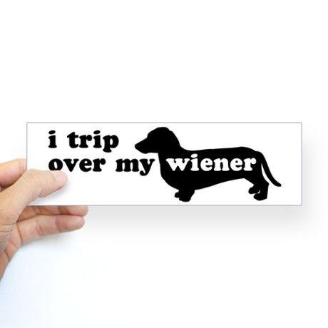 Wienertrippingbumpersticker Sticker Bumper Wiener Tripping