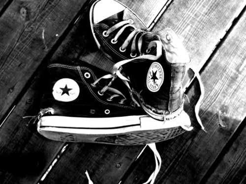 Converse #whiteallstars
