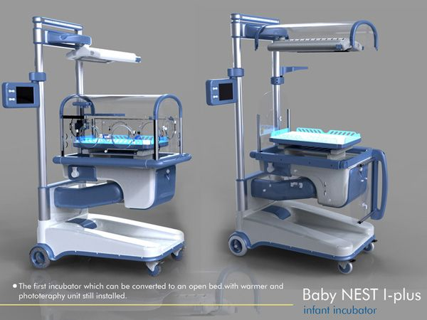 Baby NEST I-plus Incubator for Neonatal Care by Dr Hakan Gürsu for
