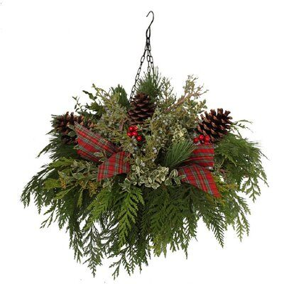 The Holiday Aisle Hanging Decorative Accent #weihnachtsdekohauseingangaussen