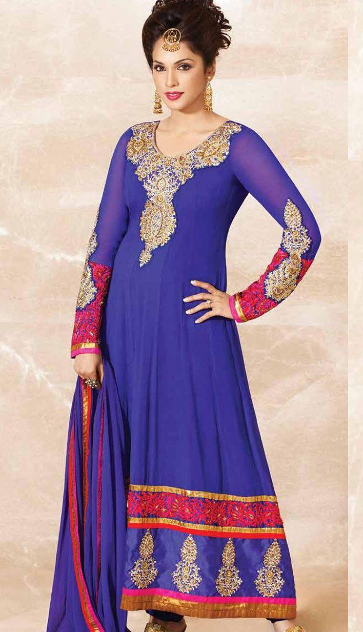 Efello Online Salwar Kameez Sarees Indian Designer: Efello Offers Latest Designer Indian Salwaar Kameez For