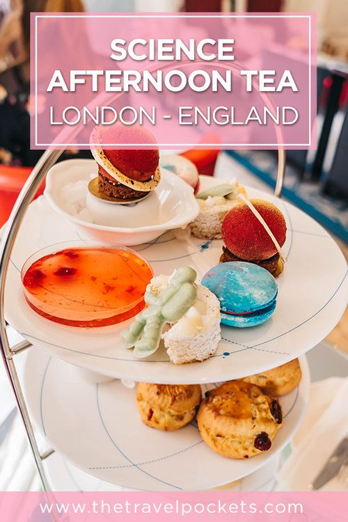 Fancy Science Afternoon Tea at The Drawing Rooms in London Science Afternoon Tea