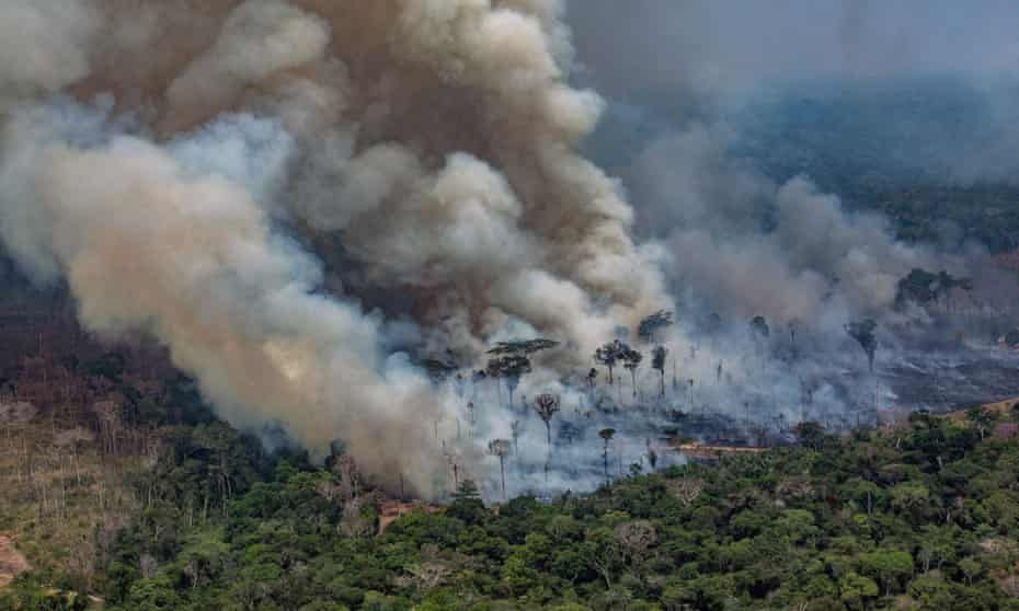 Fires Are Devouring The Amazon And Jair Bolsonaro Is To Blame