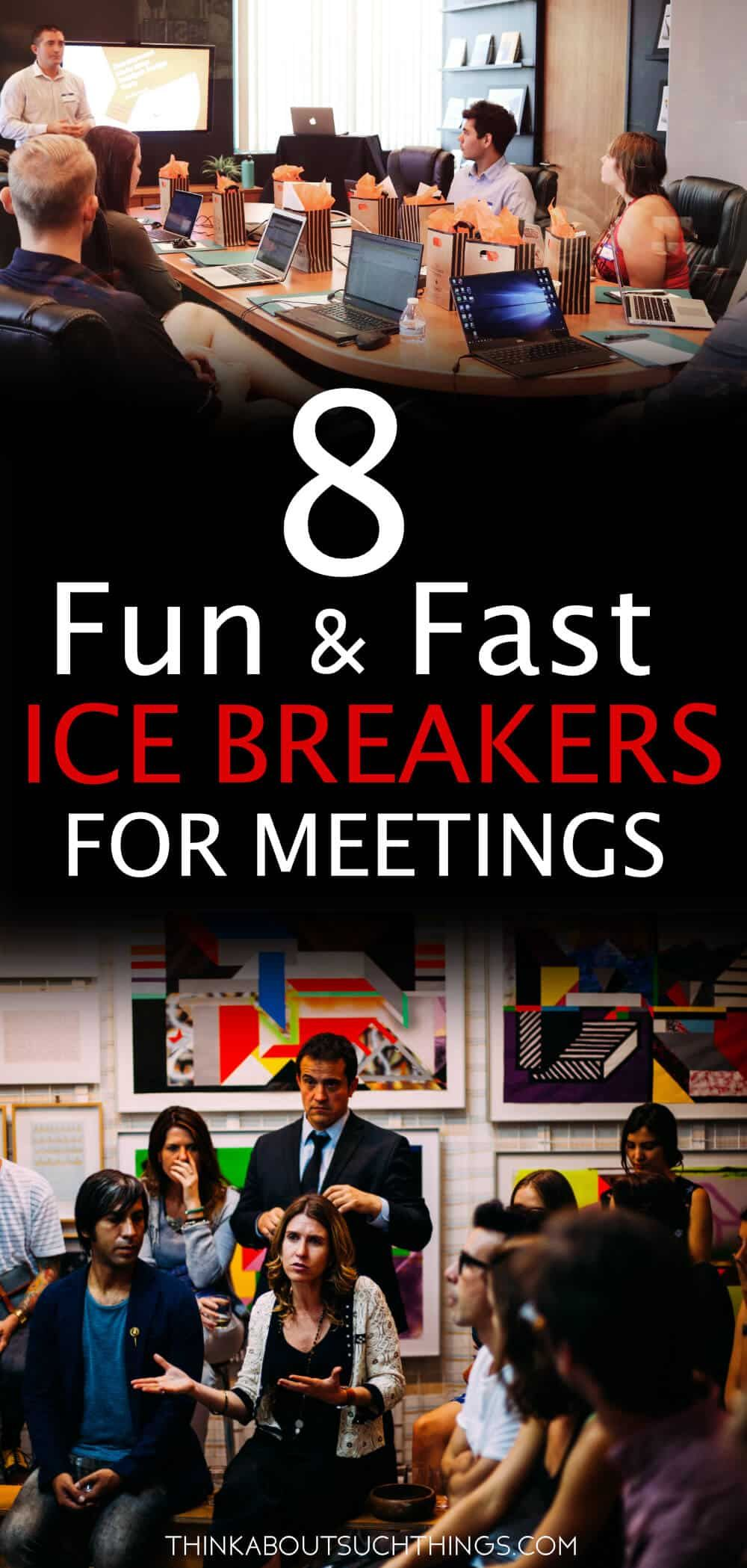 8 Super Quick Ice Breakers for Meetings Quick ice