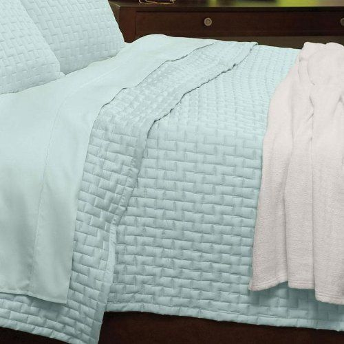 Bamboo Rayon Quilted Coverlets By Home Source International