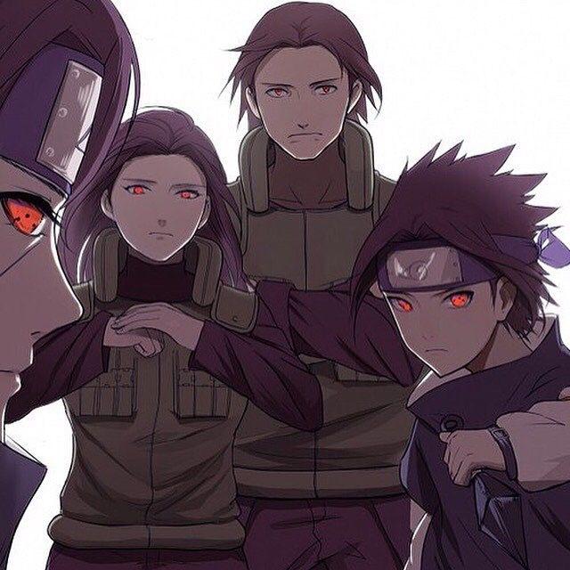 The strong Uchiha Family | Uchiha Fugaku | Uchiha Mikoto | Uchiha Itachi | Uchiha Sasuke |