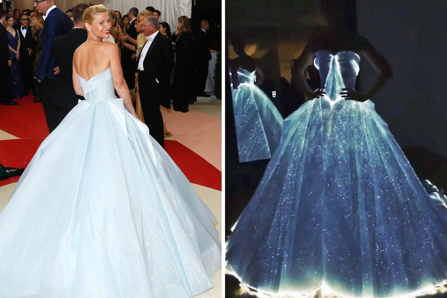 Met Gala 2016: Claire Danes\'s Glow-in-the-Dark Gown Upstaged a Red ...