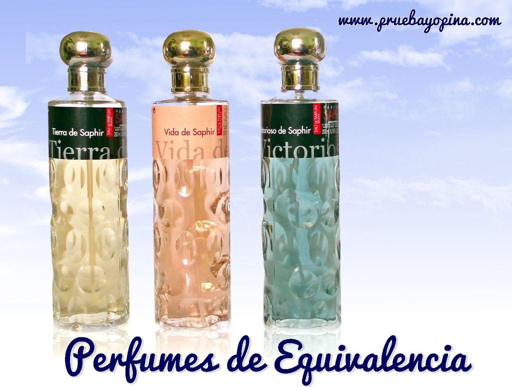 contratipo perfumes saphir