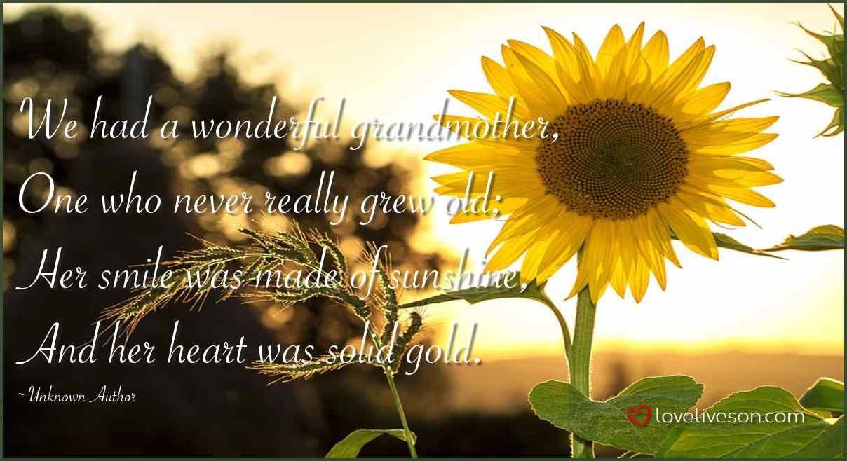 in memory of my grandma quotes