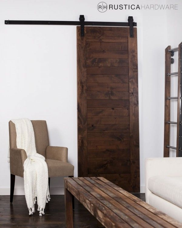 Horizontal Slat Barn Door - I love these doors in my house (bedroom bath and from kitchen to enclosed patio). & p\u003eA modern rustic mix this popular door style is characterized by ... Pezcame.Com