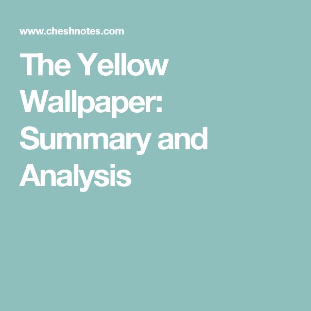 The 25+ best Yellow wallpaper summary ideas on Pinterest