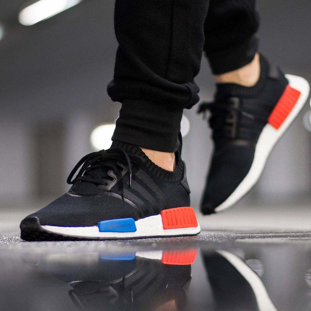 adidas NMD R1 Primeknit (S79168) OG Core Black New Arrival #solecollector  #dailysole