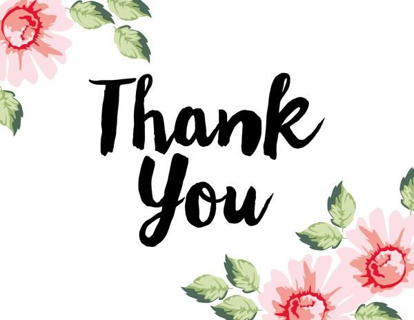 Thank You Stamping Kit | Thank you poster, Thank you wallpaper, Thank you  images