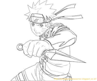 Mewarnai Gambar Naruto 7 Naruto Shippuden In 2019 Naruto