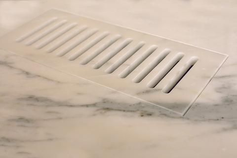 Flush Mount Ceramic And Stone Floor Vents