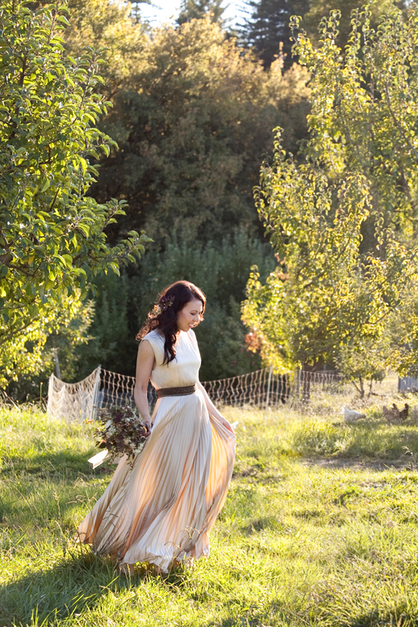 Wedding Dress The Is By Alice And Olivia Champagne Color Silk