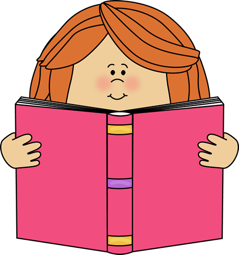 girl reading clip art girl reading a book clip art image girl rh pinterest com read clipart black and white red clipart frames