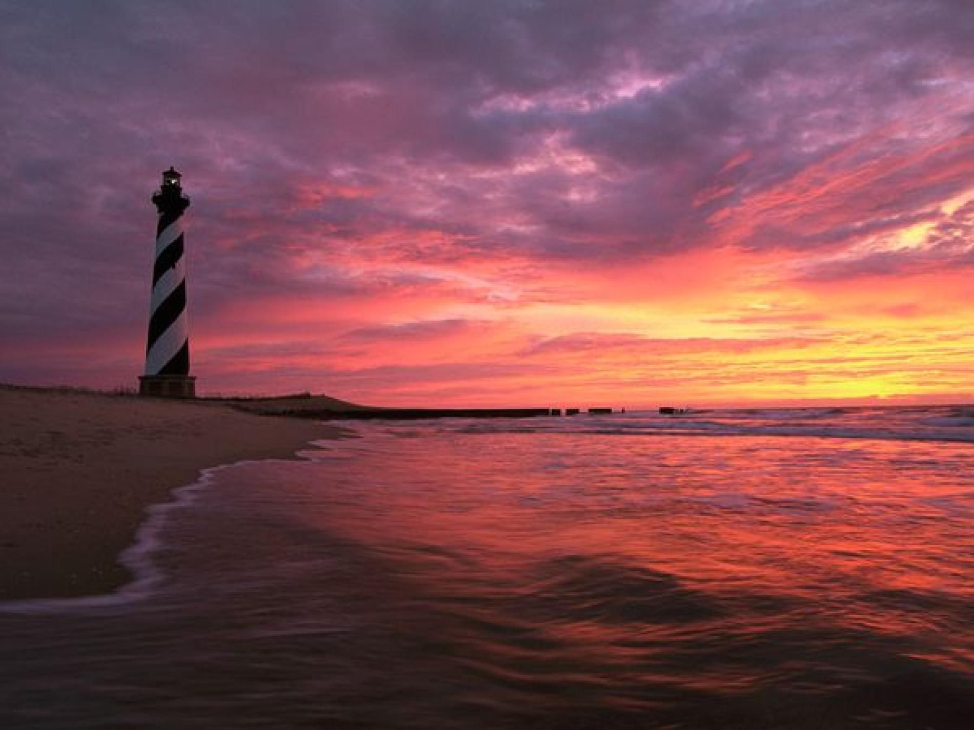 Road Trip North Carolina S Outer Banks National Geographic Hatteras Lighthouse Cape Hatteras Lighthouse Outer Banks Vacation
