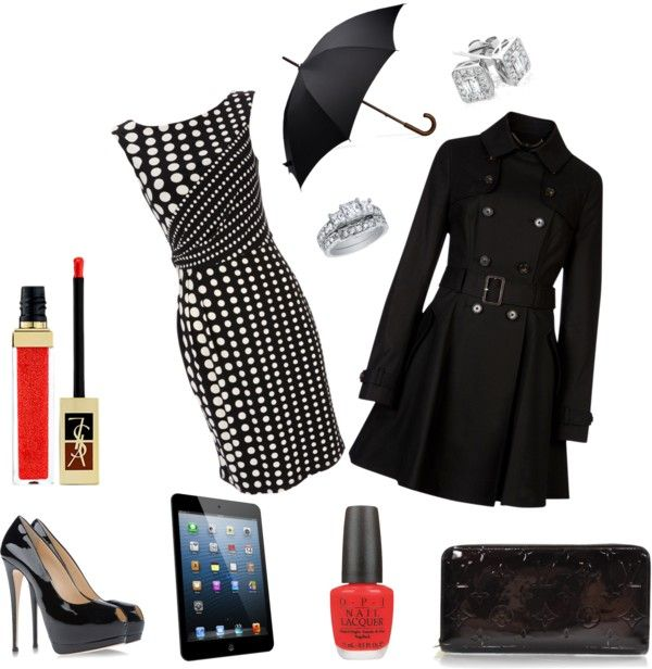 """Lunares"" by yanezvieyra on Polyvore"