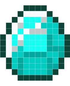 Minecraft Diamond Pixel Art Grid Google Search Minecraft Pixel Art Pixel Art Pixel Art Grid