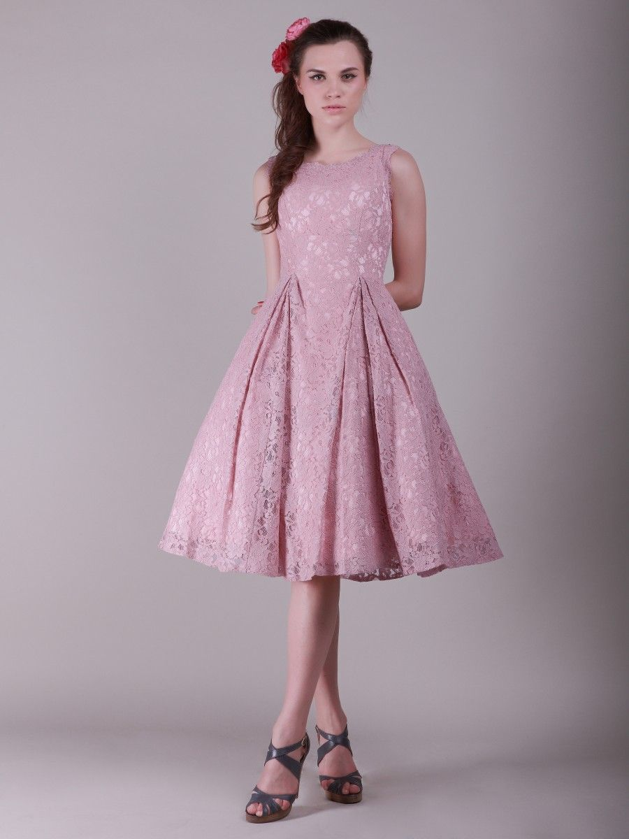 Lace dress with flouncy skirt color orchid pink sizes available vintage bridesmaid dresses lace dress with flouncy skirt color orchid pink sizes available 2 ombrellifo Gallery