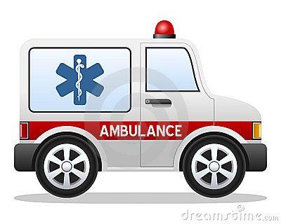 Cartoon Ambulance Car | fotos especiais | Pinterest | Ambulance ... | {Ambulance clipart 45}