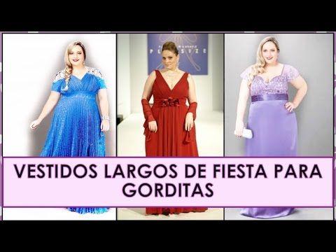 5a38a3abf Vestidos largos de fiesta para gorditas - ✿MODA PARA GORDITAS♥ - YouTube