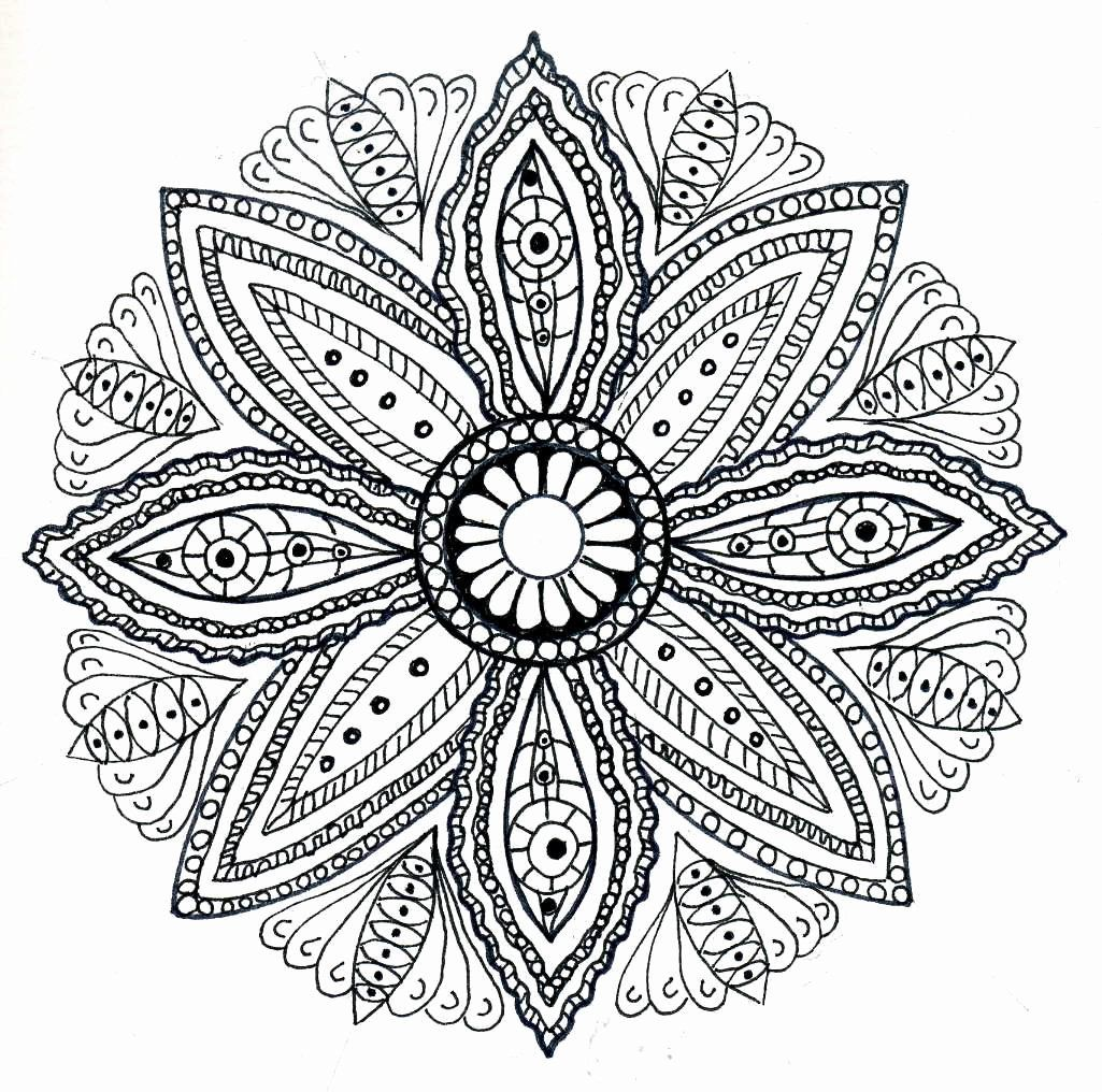 Mandalas Adult Coloring Books Best Of Dots N Doodles Mandala