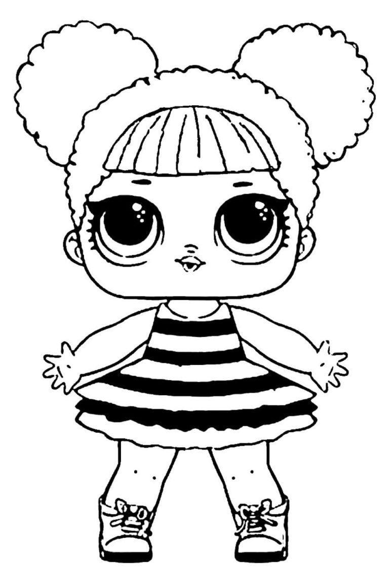 Lol Surprise Dolls Coloring Pages Print Them For Free All The Series Cool Coloring Pages Doll Drawing Unicorn Coloring Pages