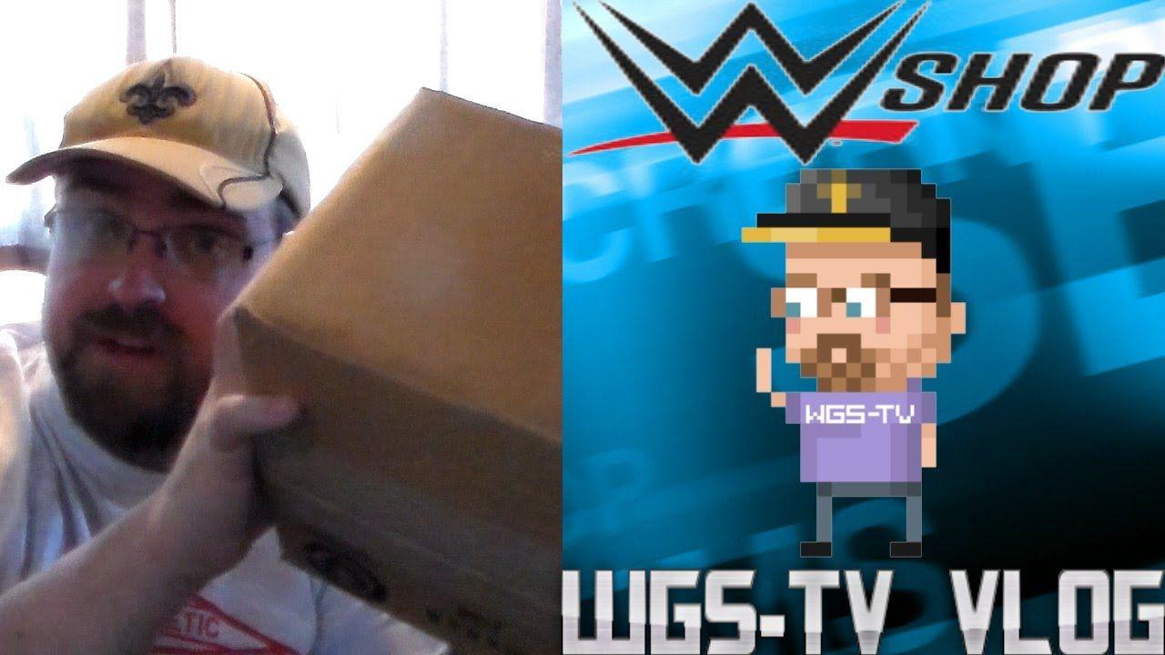 WWE Shop Unboxing - #WWEShop - WGS-TV Vlog