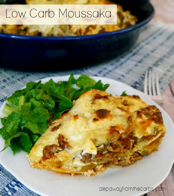 Low Carb Moussaka A Delicious Version Of The Classic Greek Dish