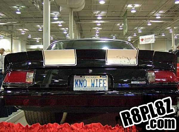 Kno Wife Rate Funny License Plates And Cool Vanity Plate Ideas