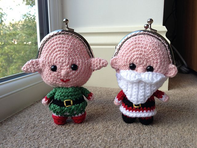 Ravelry: Elf Coin Purse pattern by Laura Sutcliffe | 口金包 ...