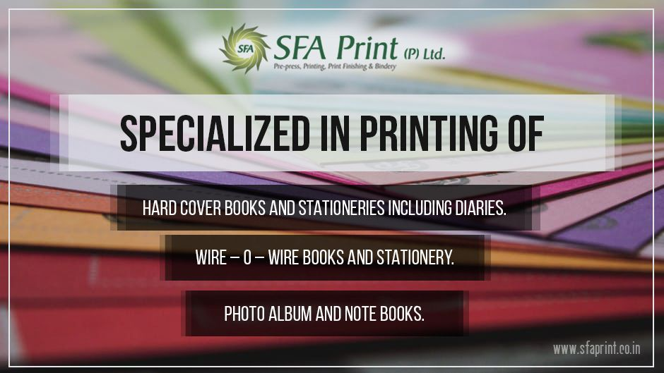 SFA PRINT - One Stop Print shop with a unique capacity for all your