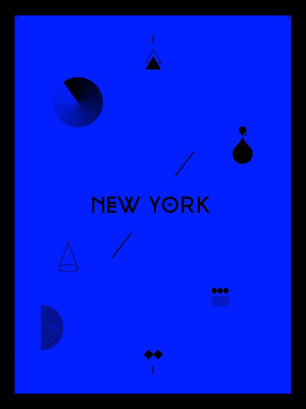 NEW YORK – Metropolis Typeface / design by Jay Castruita