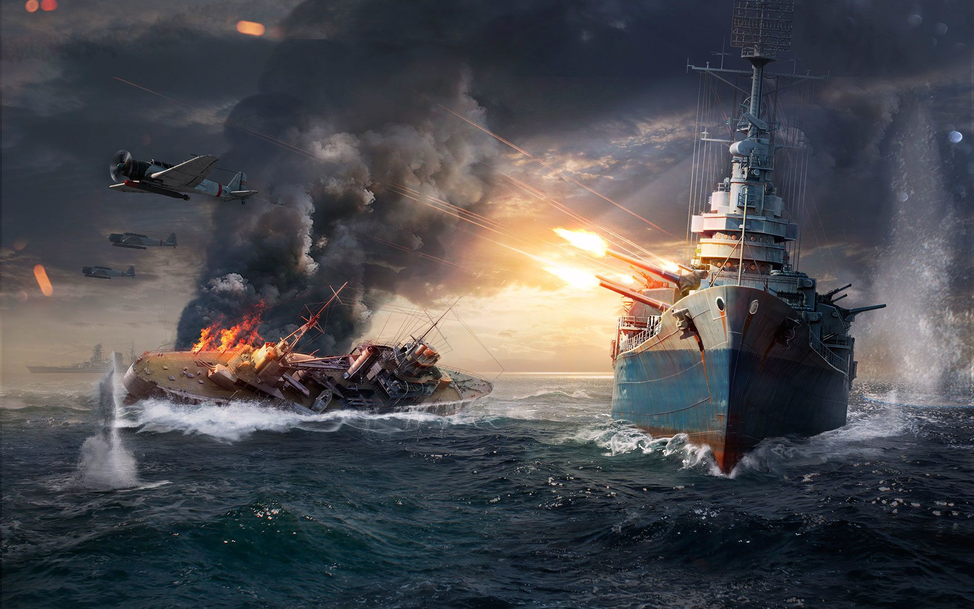 World Of Warships Computer Wallpapers Desktop Backgrounds 1920x1200 Id 652232 World Of Warships Wallpaper Warship Battle Warship