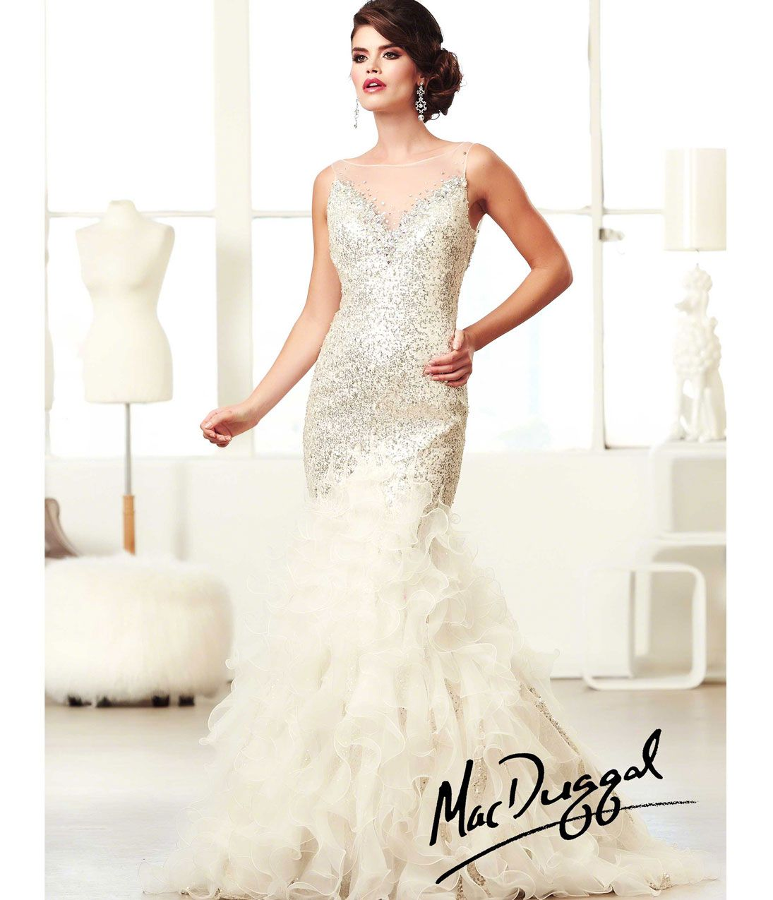 1920s Wedding Dresses- Art Deco Wedding Dress, Gatsby Wedding Dress ...
