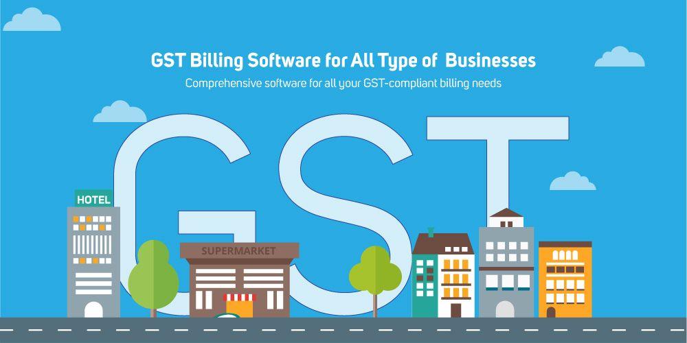 Gst Billing Software Billing Software Accounting Software Online Business Marketing