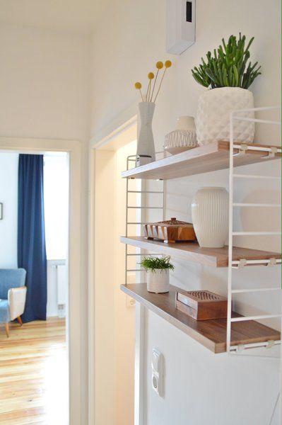 gewinn wohnideen string regale pinterest regal haus und flure. Black Bedroom Furniture Sets. Home Design Ideas