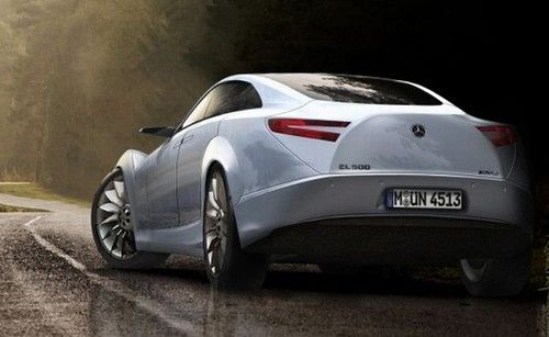 Mercedes-Benz EL500, Electric Concept, Nikita Kalinin