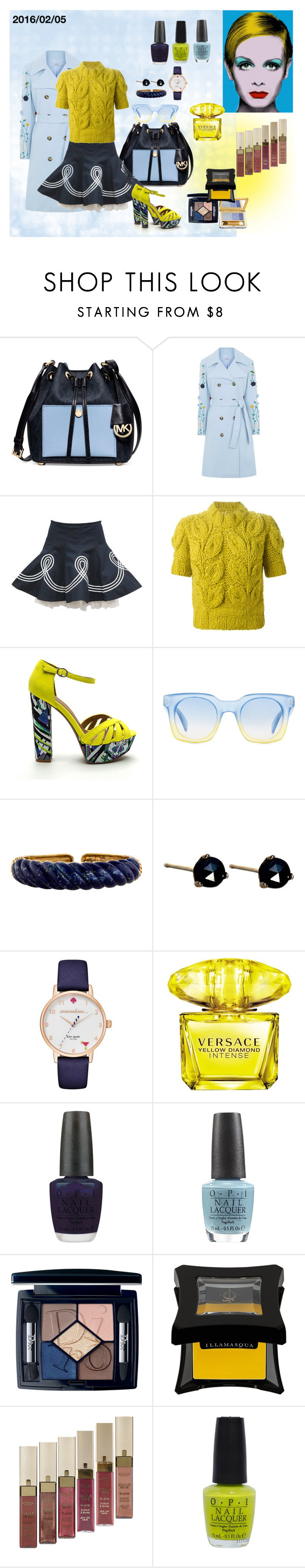 """""""2016/02/05: Weekend is on!"""" by mariloli1303 on Polyvore featuring moda, Michael Kors, VIVETTA, Alexander McQueen, Maison Margiela, Marc by Marc Jacobs, LUMO, Kate Spade, Versace y OPI"""
