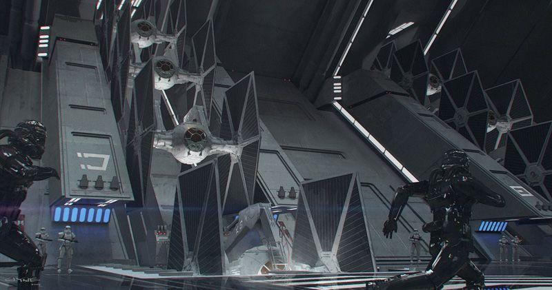 Star Wars - The Force Awakens Concept Art - Digital Art Mix