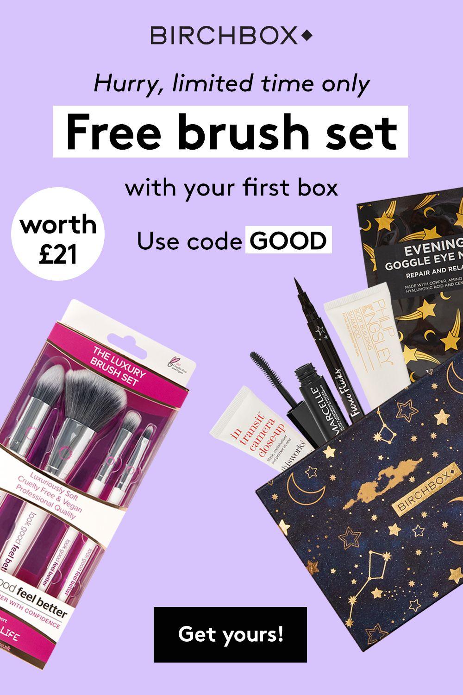 Get a free Look Good Feel Better brush set (worth £21