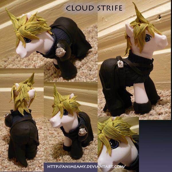Cloud Strife by ~customlpvalley on deviantART